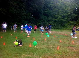Field Games at Oak Haven Campground